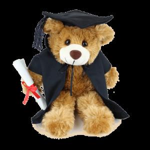 Barnaby Graduation Custom Branded Bear