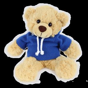 Bertie Blue Hoodie Copy Custom Branded Bear