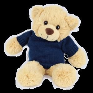 Bertie Blue Jumper Copy Custom Branded Bear