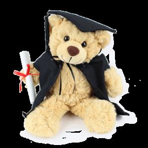 Bertie Graduation Custom Branded Bear