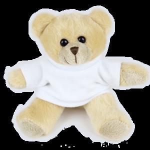 Budget Bear White T-shirt Custom Branded Bear