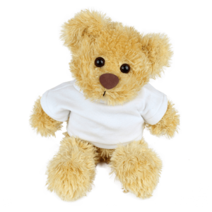 Rocky White T-shirt Custom Branded Bear