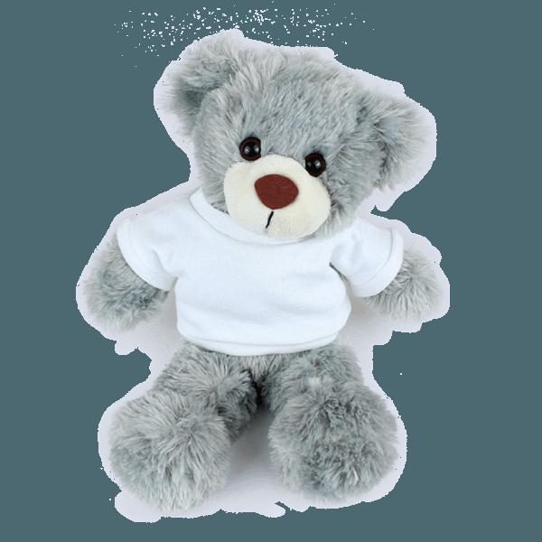 Stanley White T-shirt Custom Branded Bear